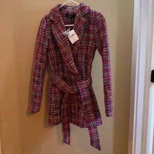 New with tags tweed coat